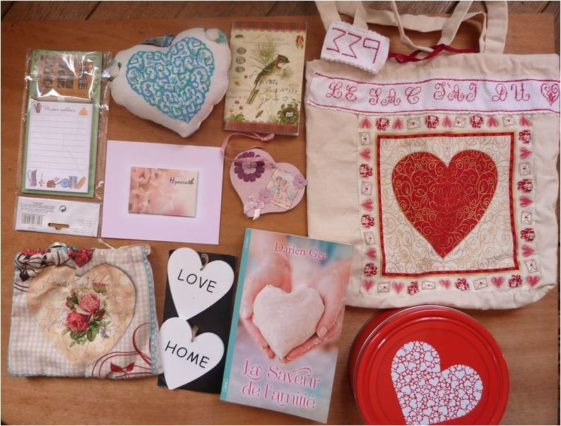 N°339 Le sac J'ai du coeur chez Clauderose