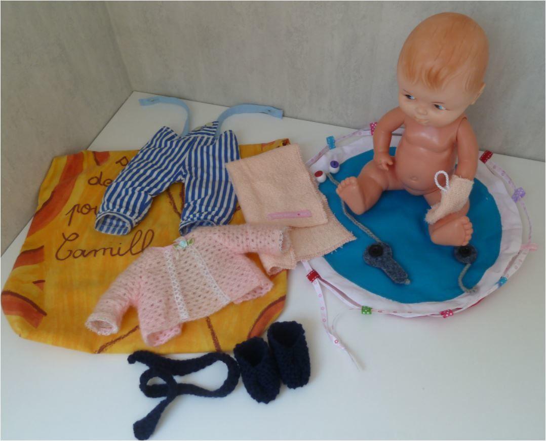 N°353 Le sac de la poupée Camille
