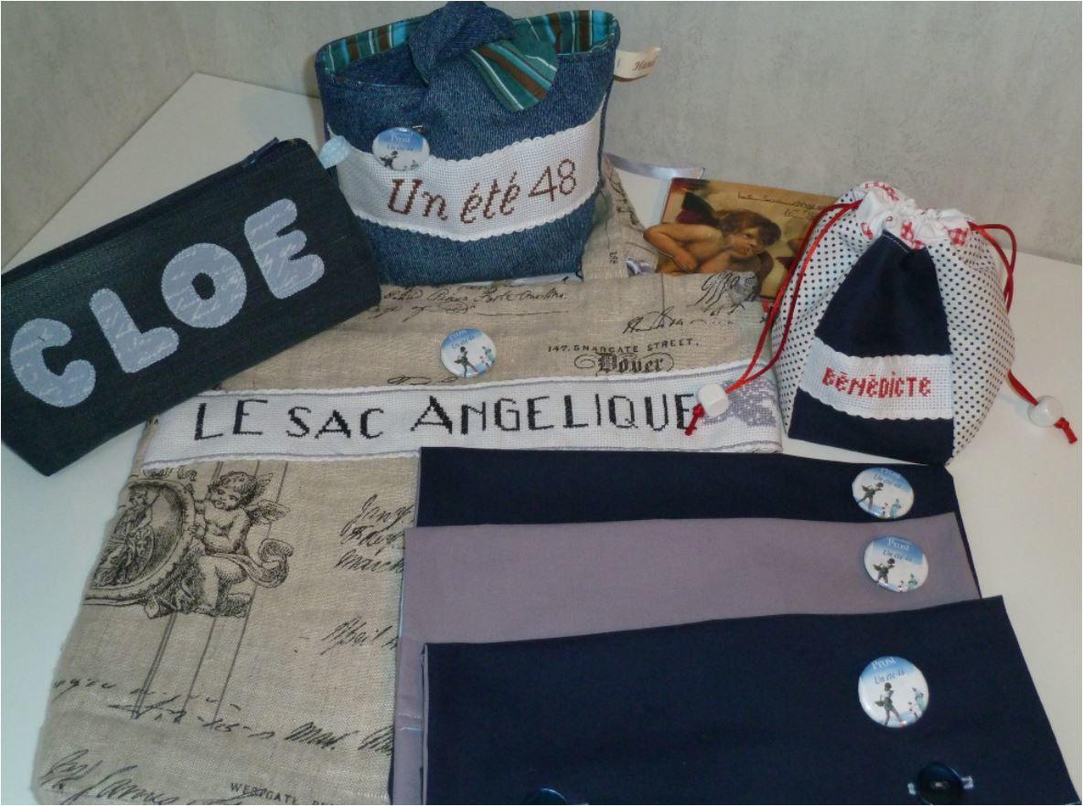 N°337 Le sac angélique pour Emmanuel Prost
