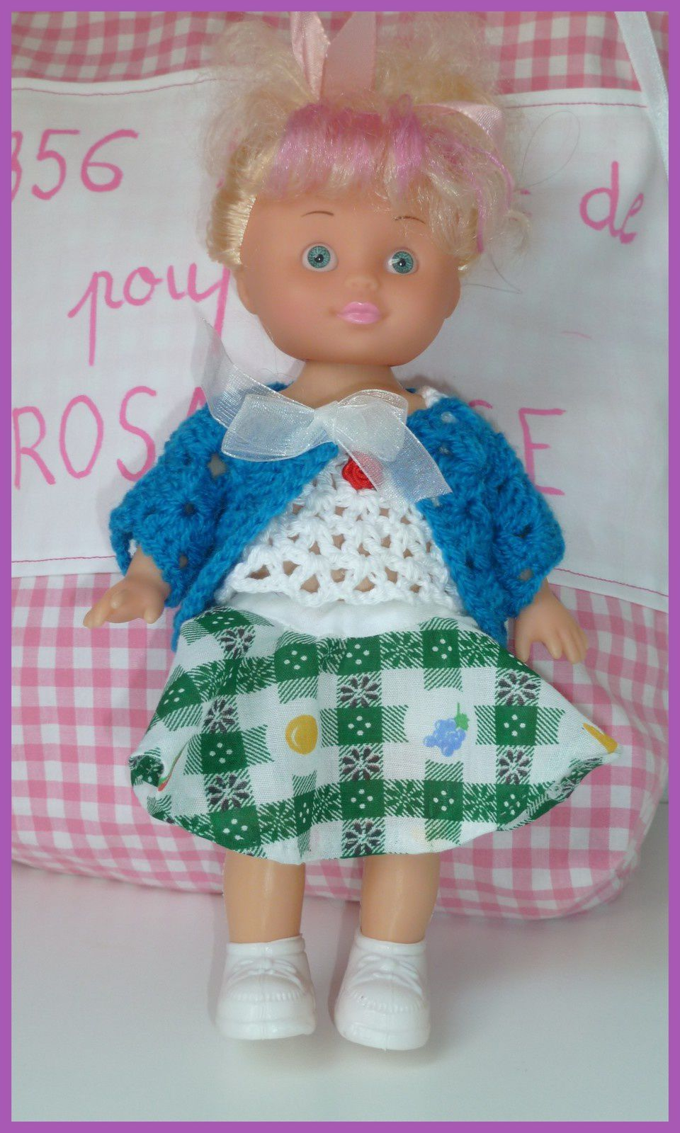 N°356 Le sac de la poupée Rosa Rose