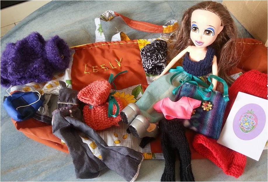 Le sac de la poupée Lesly (Qinoa)
