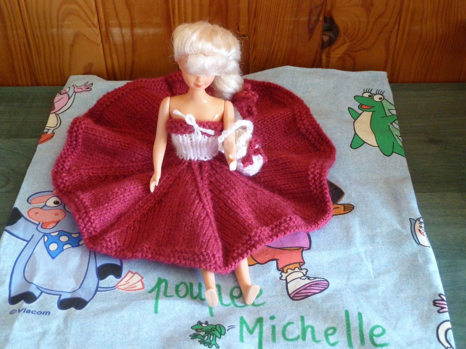N°324 Le sac de la poupée Michelle : préparation