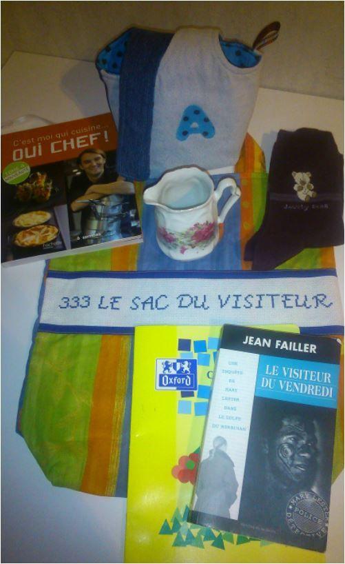 N°333 Le sac du visiteur pour Agnès