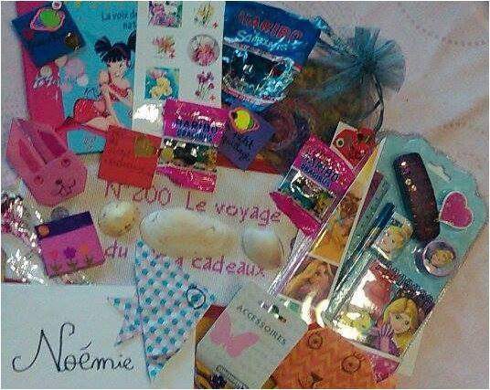 N°200 Le voyage du sac-à-cadeaux : échange avec Miss Poupette : le retour