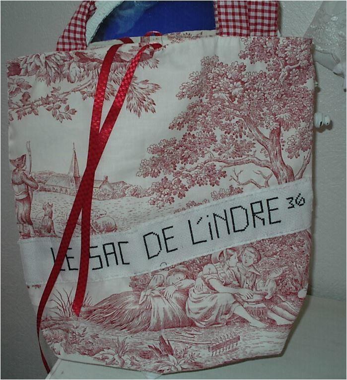 N°436 Le sac de L'Indre pour Jede