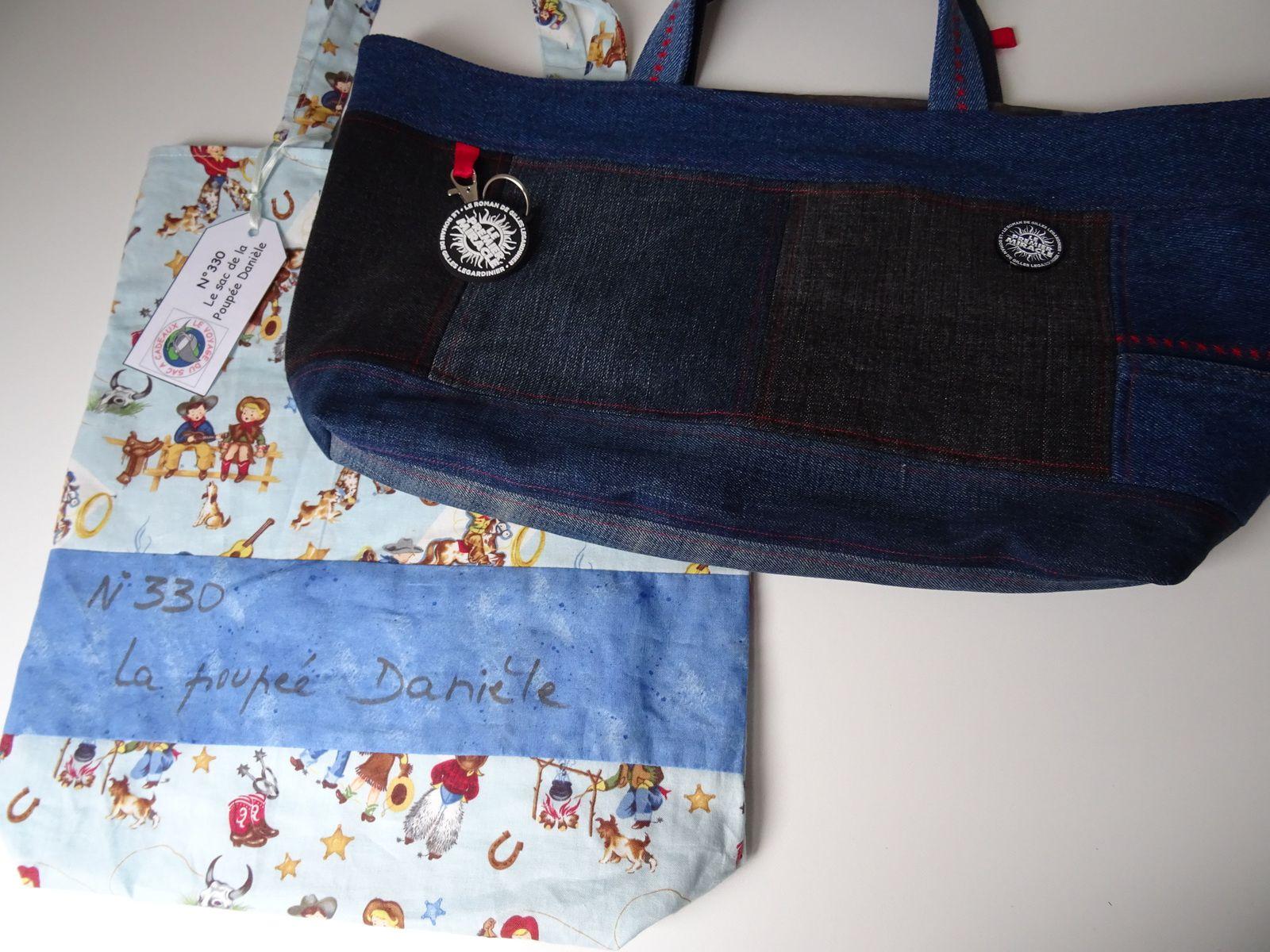 N°330 Le sac de la poupée Danièle : 8ème voyage pour Séverine