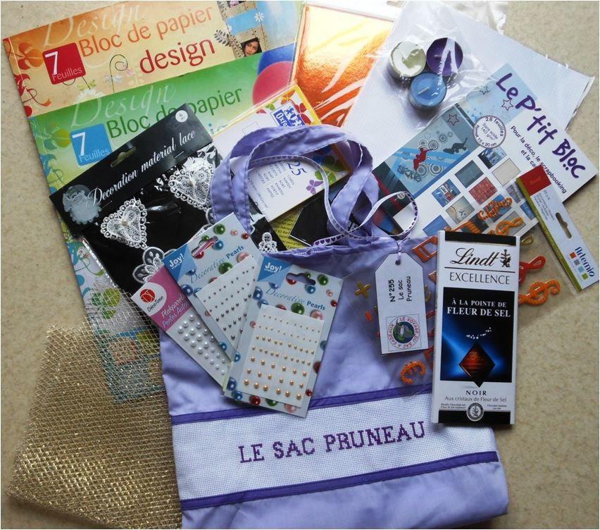 N°255 Le sac pruneau : chez Colette