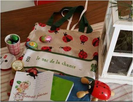 N°350 Le sac de la chance : pour CaroleF
