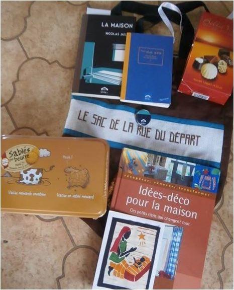 N°316 Le sac de la Rue du Départ pour Jeanine