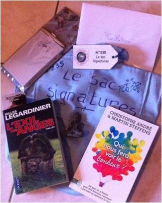 N°235 Le sac signatures : pour Mélissa L