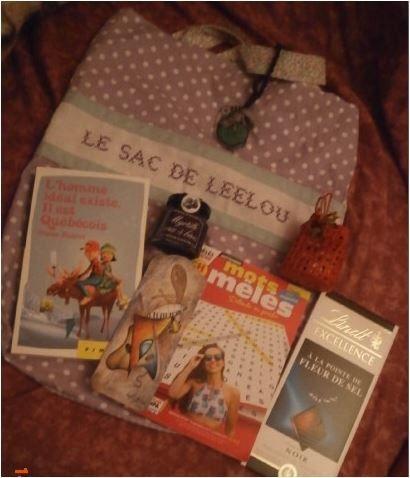 N°177 Le sac de Leelou : pour Leelou