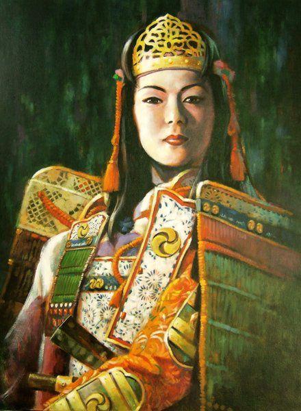 Tomoe Gozen Femme Samouraï