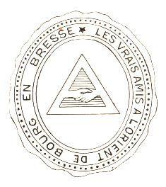 Loge Les Vrais Amis à Bourg-en-Bresse fondée en 1785.