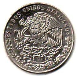 MONNAIES DU MEXIQUE.