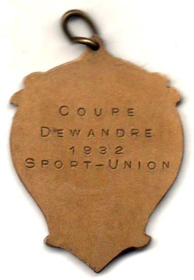 Médailles sur le thème de l'aviron.