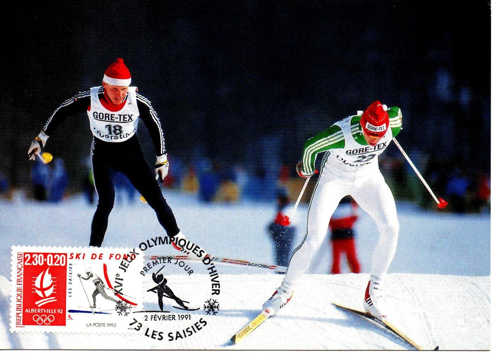 Jeux olympiques d'Albertville, 1992.