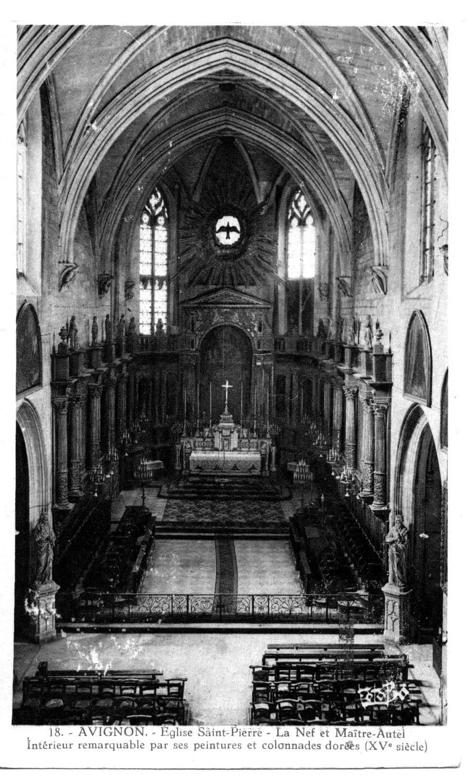Avignon autrefois.