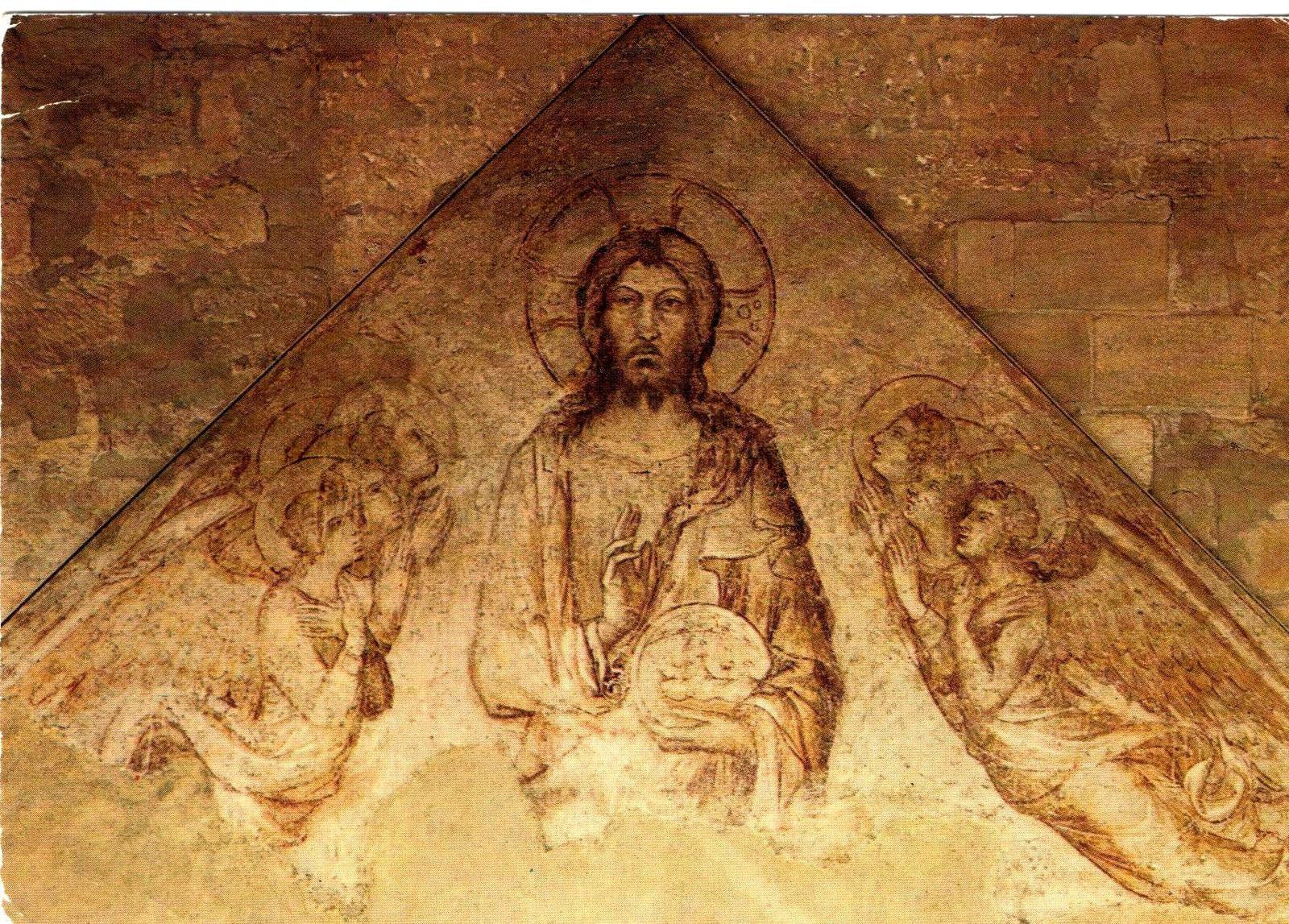 Sinopia de Simone Martini (1341) provenant du porche de Notre-Dame des Doms.