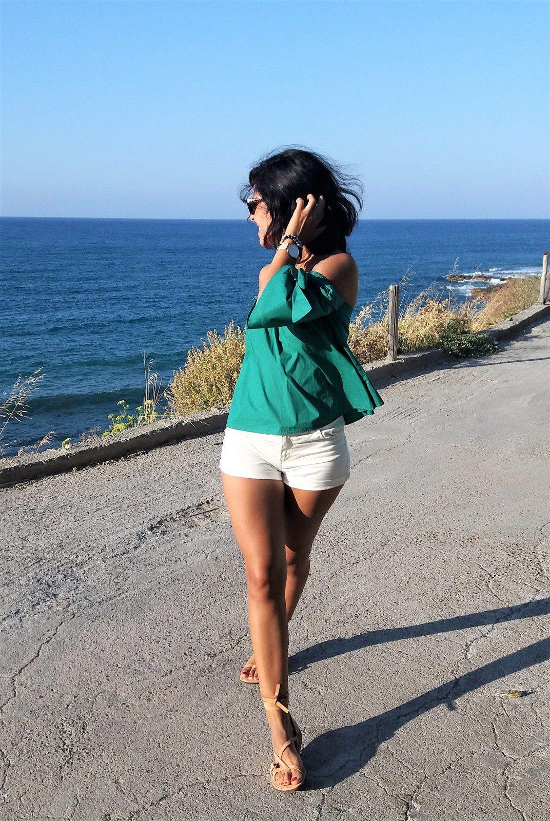 Summer look avec des sandales K Jacques like