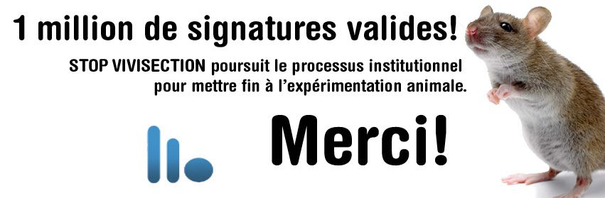 Initiative citoyenne stop vivisection