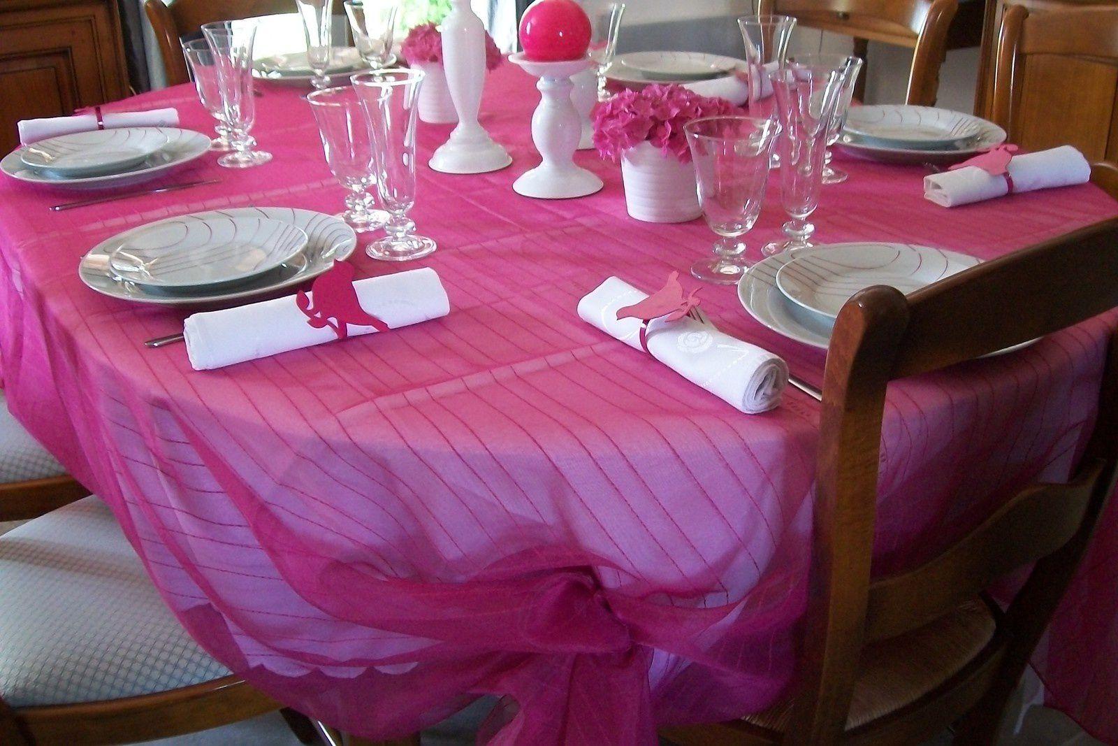 table hortensias