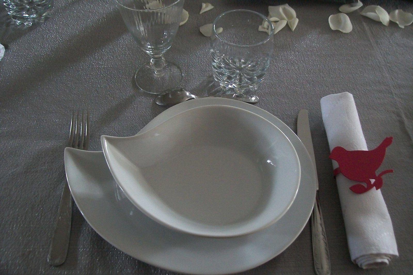 de retour,et une petite table