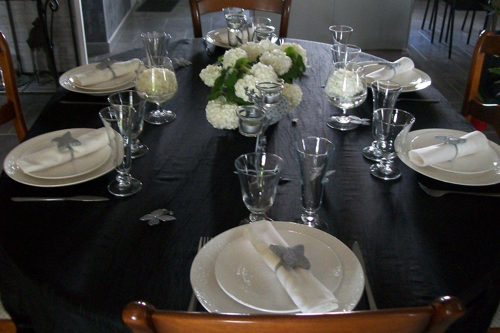 table boules de neige