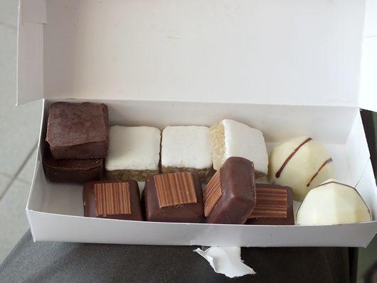 Chocolat fin Robert aussi, j'y reviendrai...