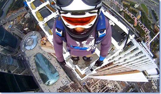 Photo de BASE par ordre de 1 Building, 2 Antennas, 3 Spans, 4 Earth