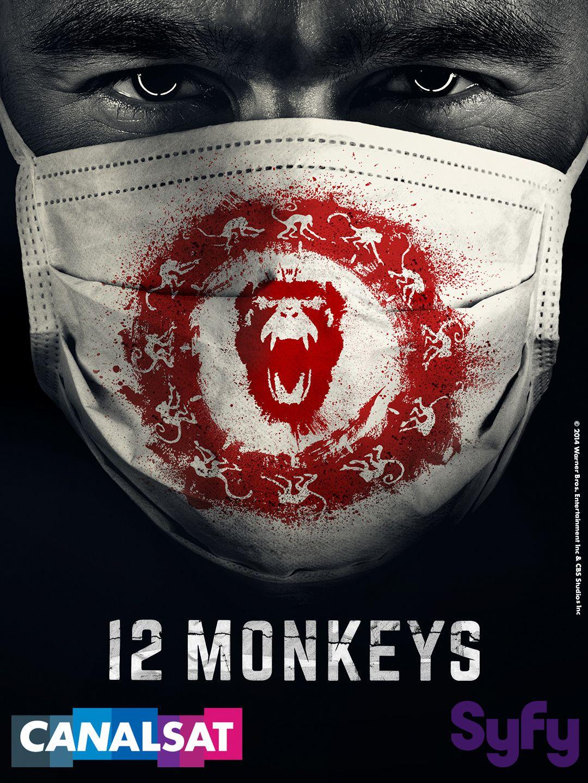 Save The Date : Syfy sur CANALSAT lance une « Soirée Super Tuesday » avec la nouvelle série 12 Monkeys à partir du 20 janvier 2015
