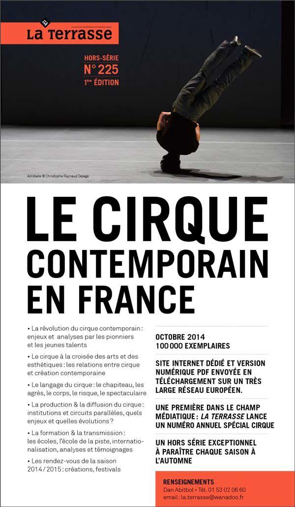 Un hors-série sur le cirque contemporain