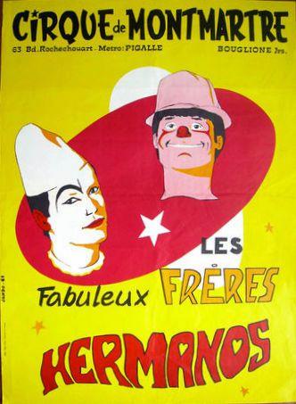 Quelques visuels de l'ex Cirque de Montmartre (1963-1972)