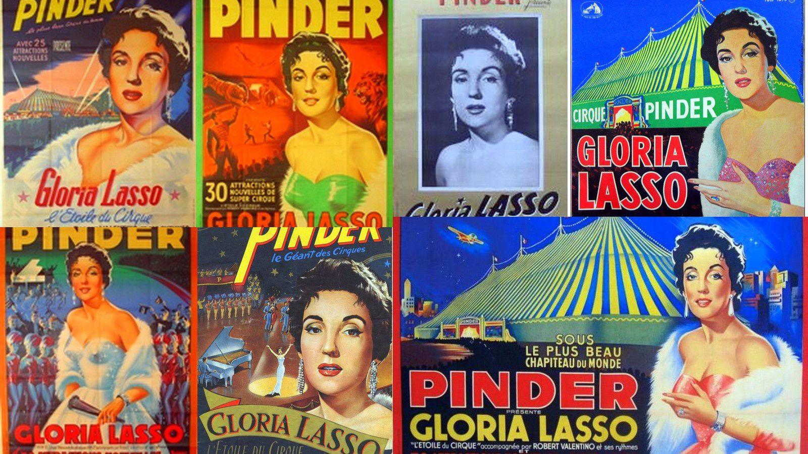 Gloria Lasso (1922-2005) la chanteuse qui a manqué de couler le cirque Pinder