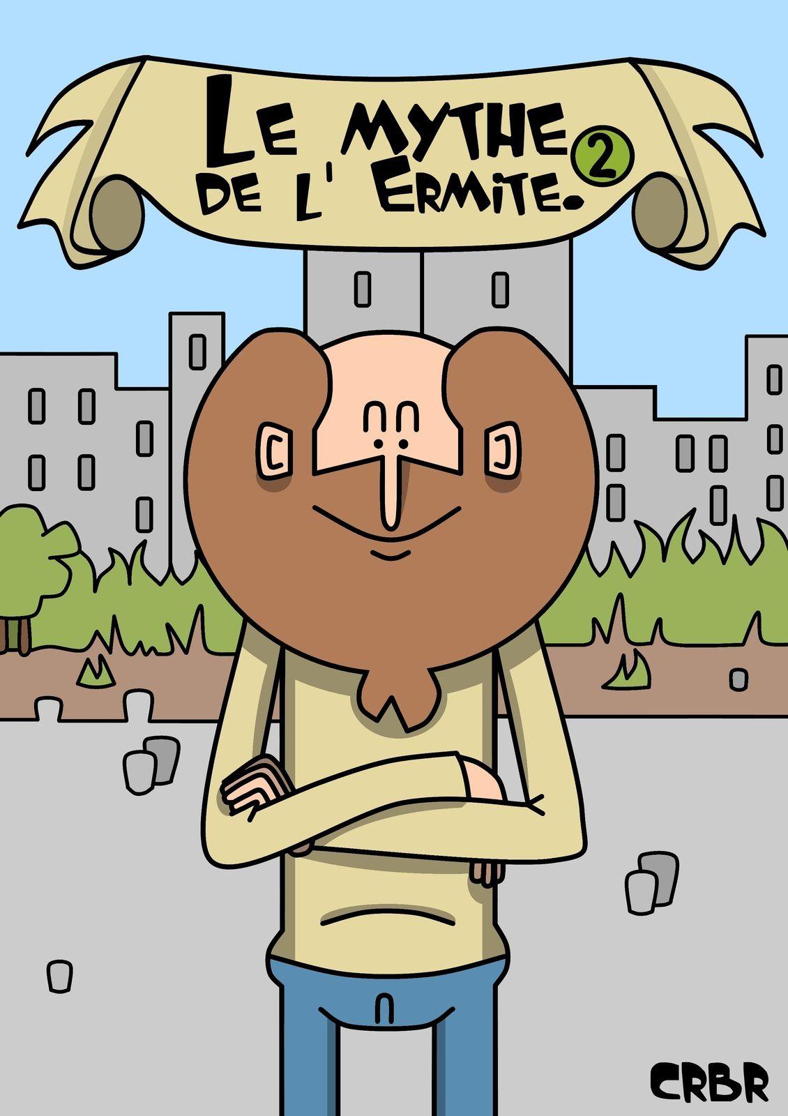 Le Mythe de l' Ermite, la couverture et ...