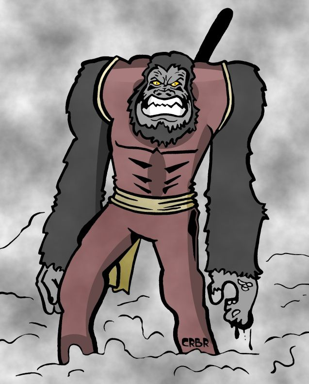 Travaux et Cie: Le Gorille de l' Ouest.