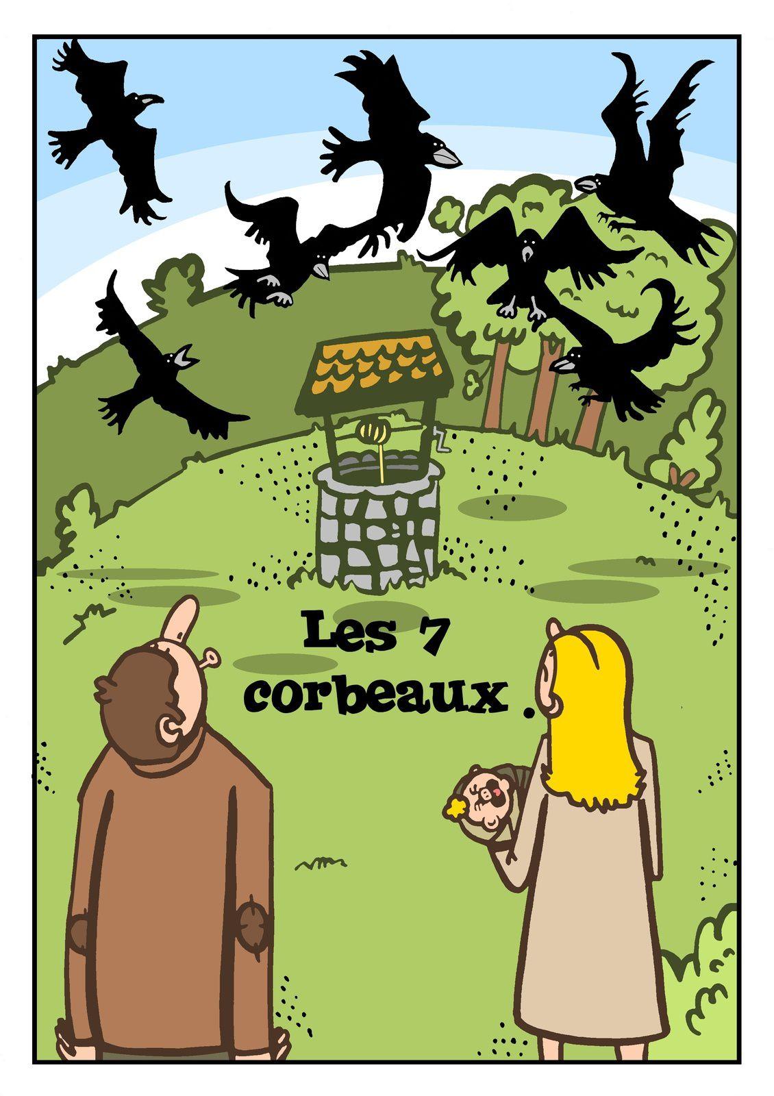 Les contes de Grimm: Les 7 corbeaux.