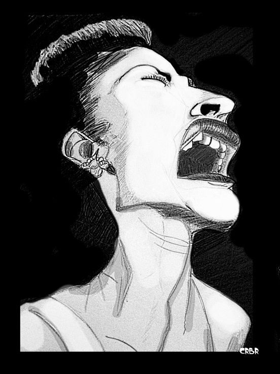 Billie Holiday Caricature