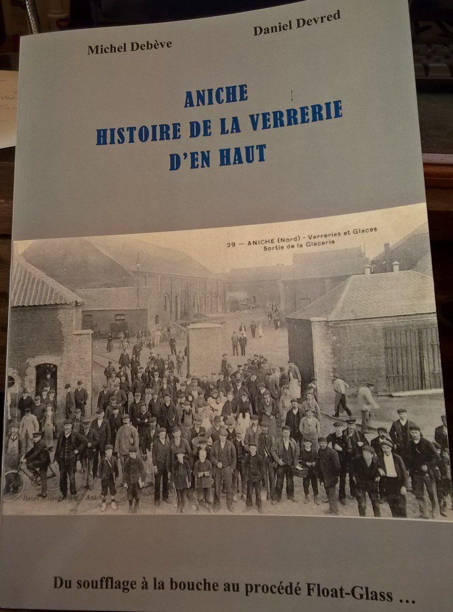 Couverture du Livre : Aniche Histoire de la Verrerie d'en haut
