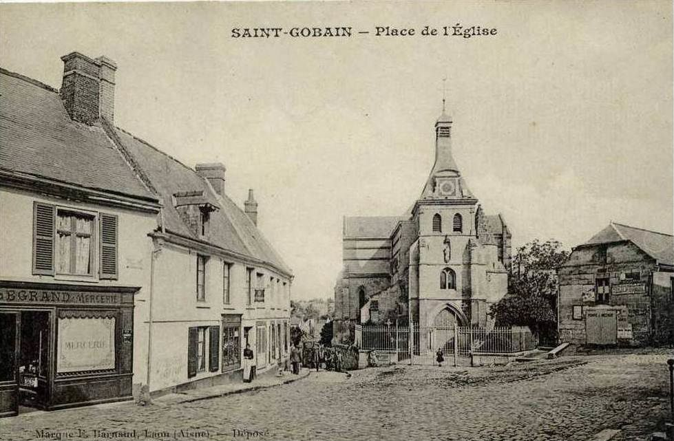 Album - Saint-Gobain usine et village