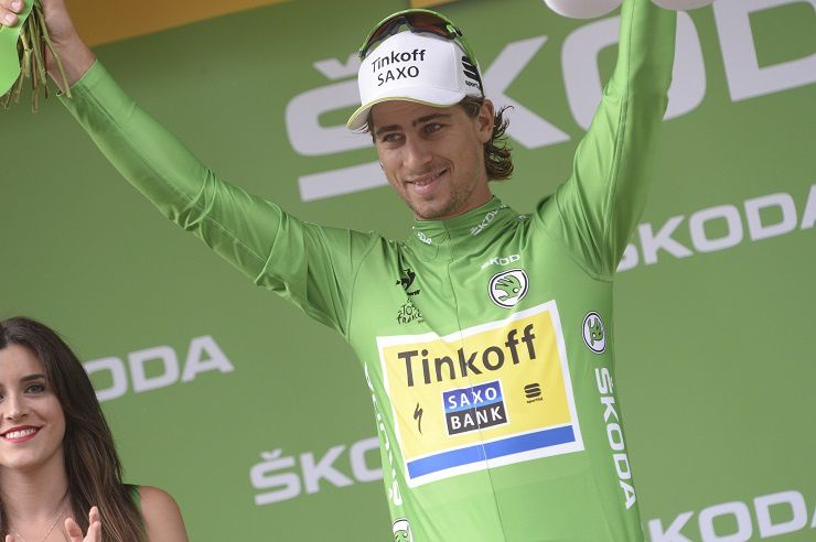 Peter Sagan, Maillot vert du Tour de France 2016. Crédit photo cyclismactu.net