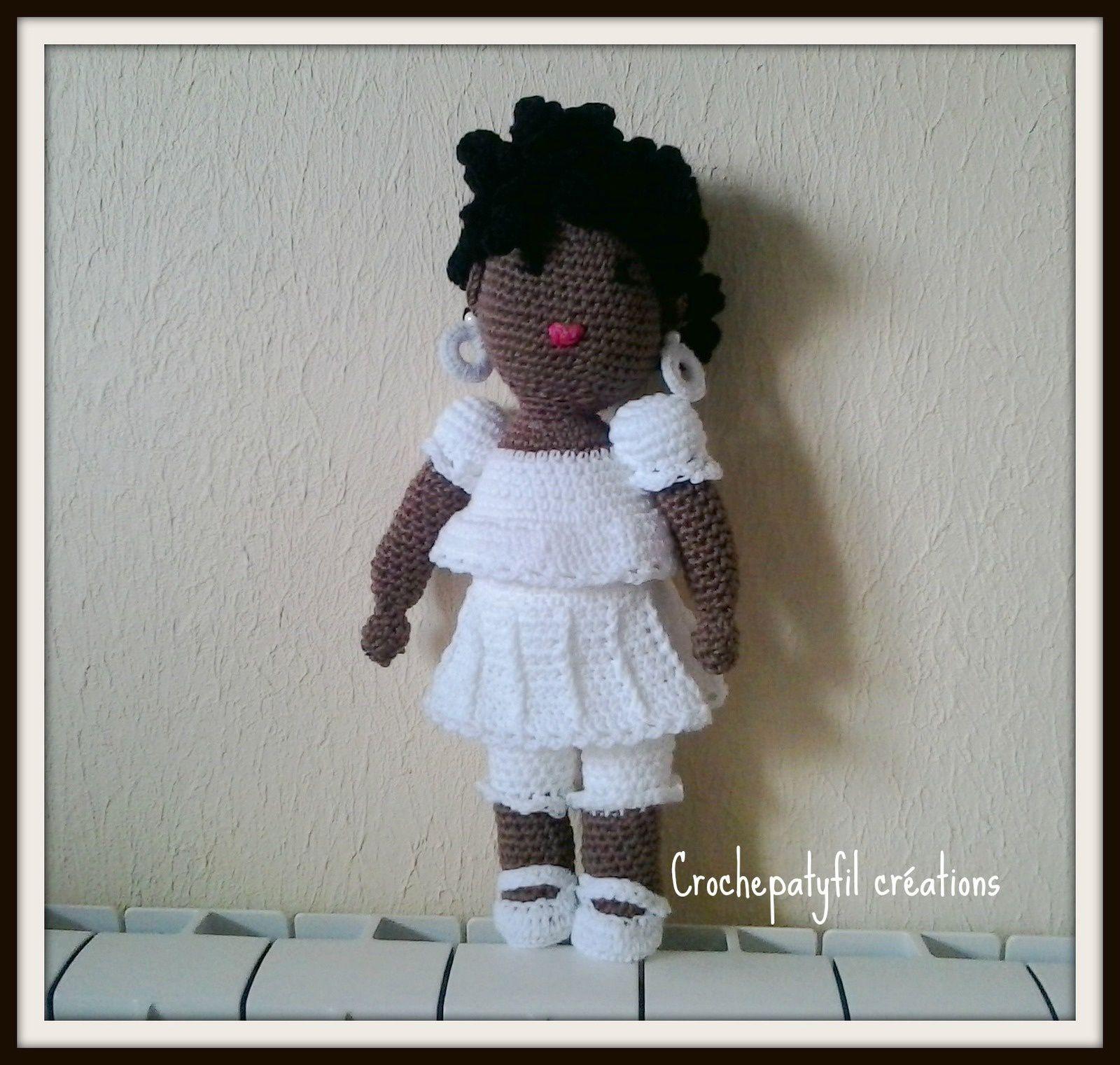 Shirley la poupée brésilienne au crochet