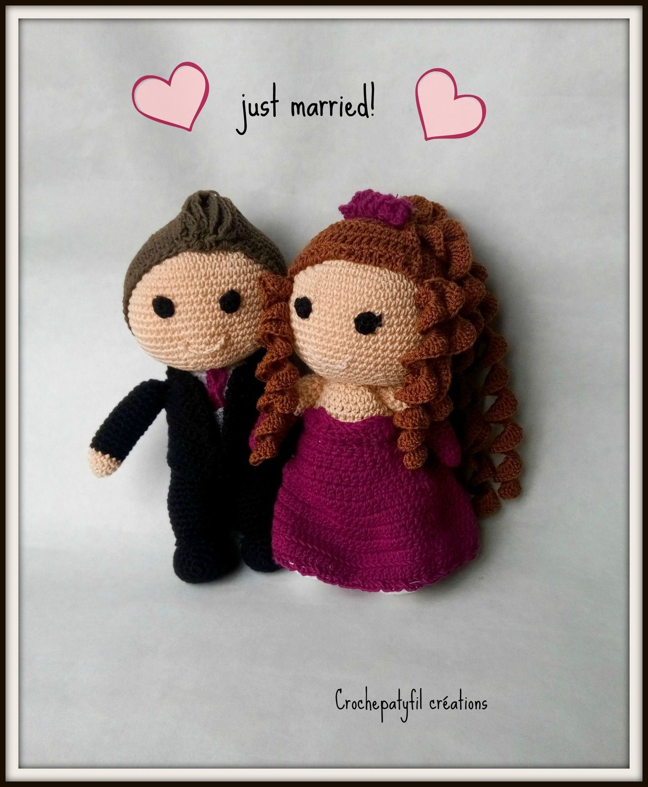 petits mariés amigurumis