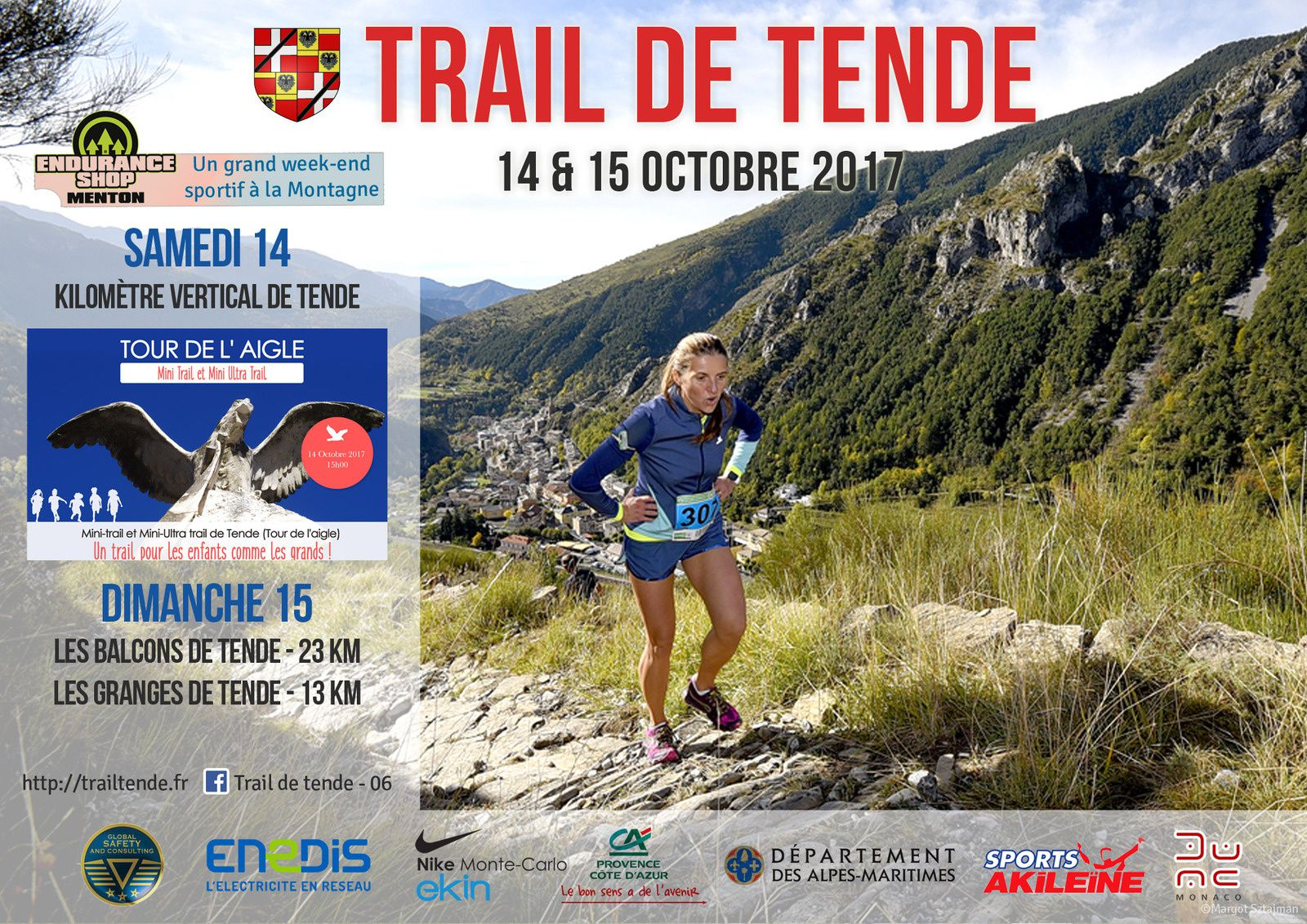 Trails de TENDE - 14 & 15 Octobre 2017