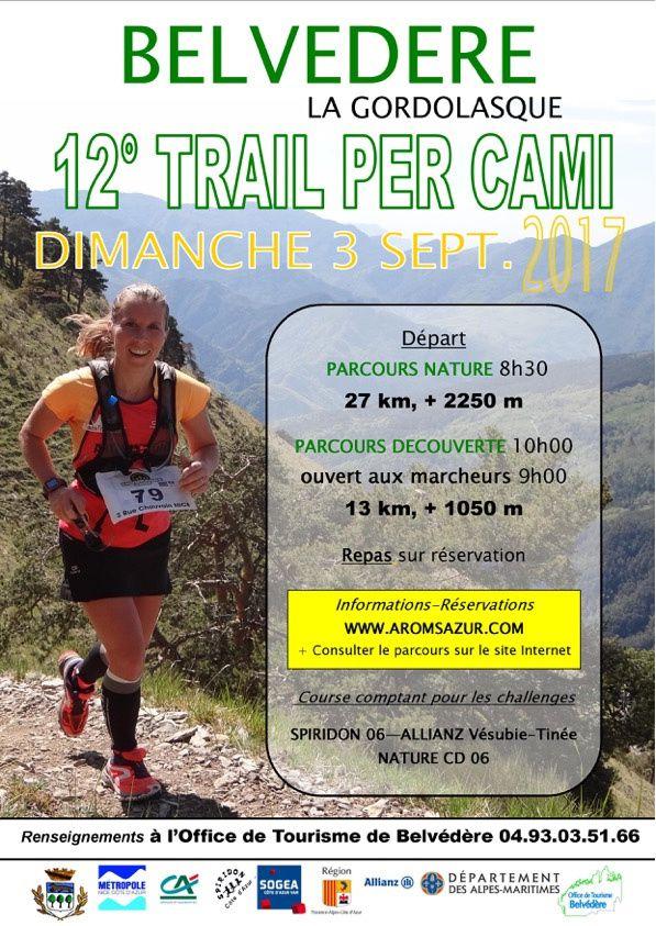 Trail per ami flyer