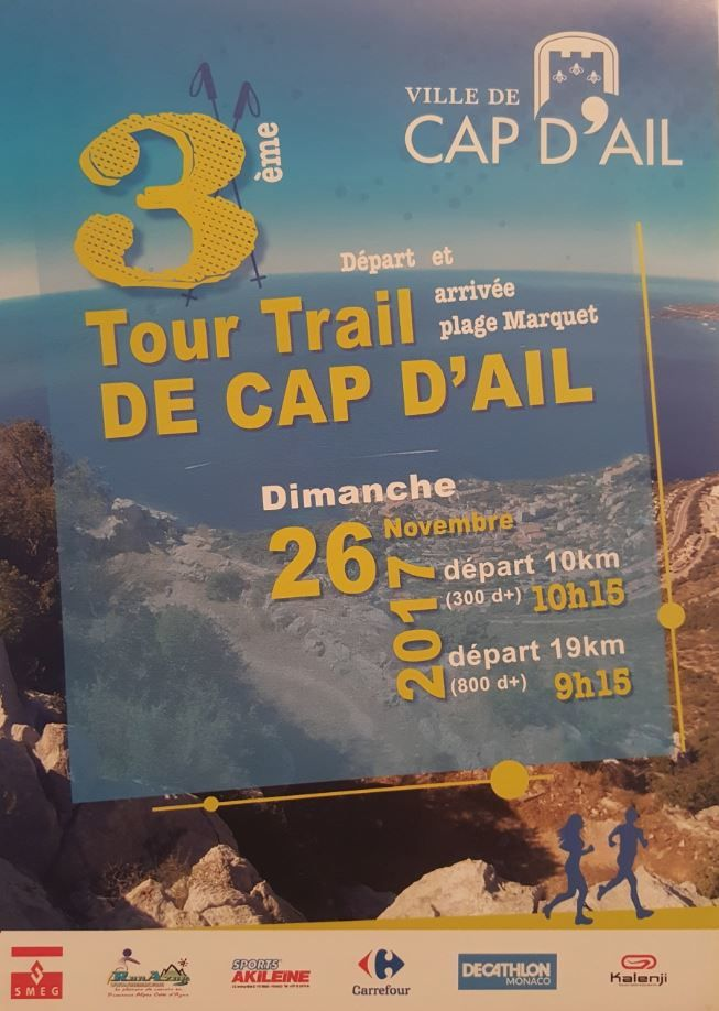 courses venir cap d 39 ail tour trail 26 nov berre les alpes 1er panettone trail 26 nov. Black Bedroom Furniture Sets. Home Design Ideas