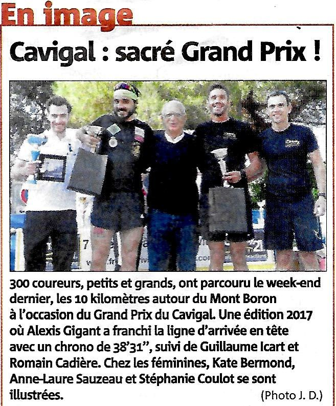 NICE GRAND PRIX DU CAVIGAL 2017