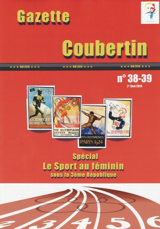 Parution de la Gazette Coubertin, spécial : Le Sport féminin sous la 3ème République