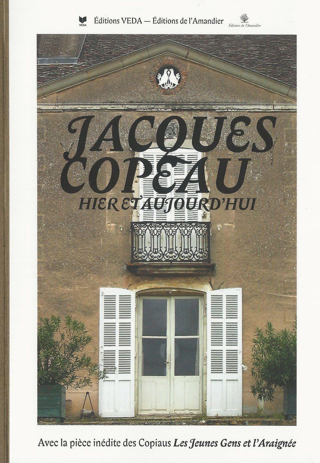 Parution : Jacques Copeau hier et aujourd'hui