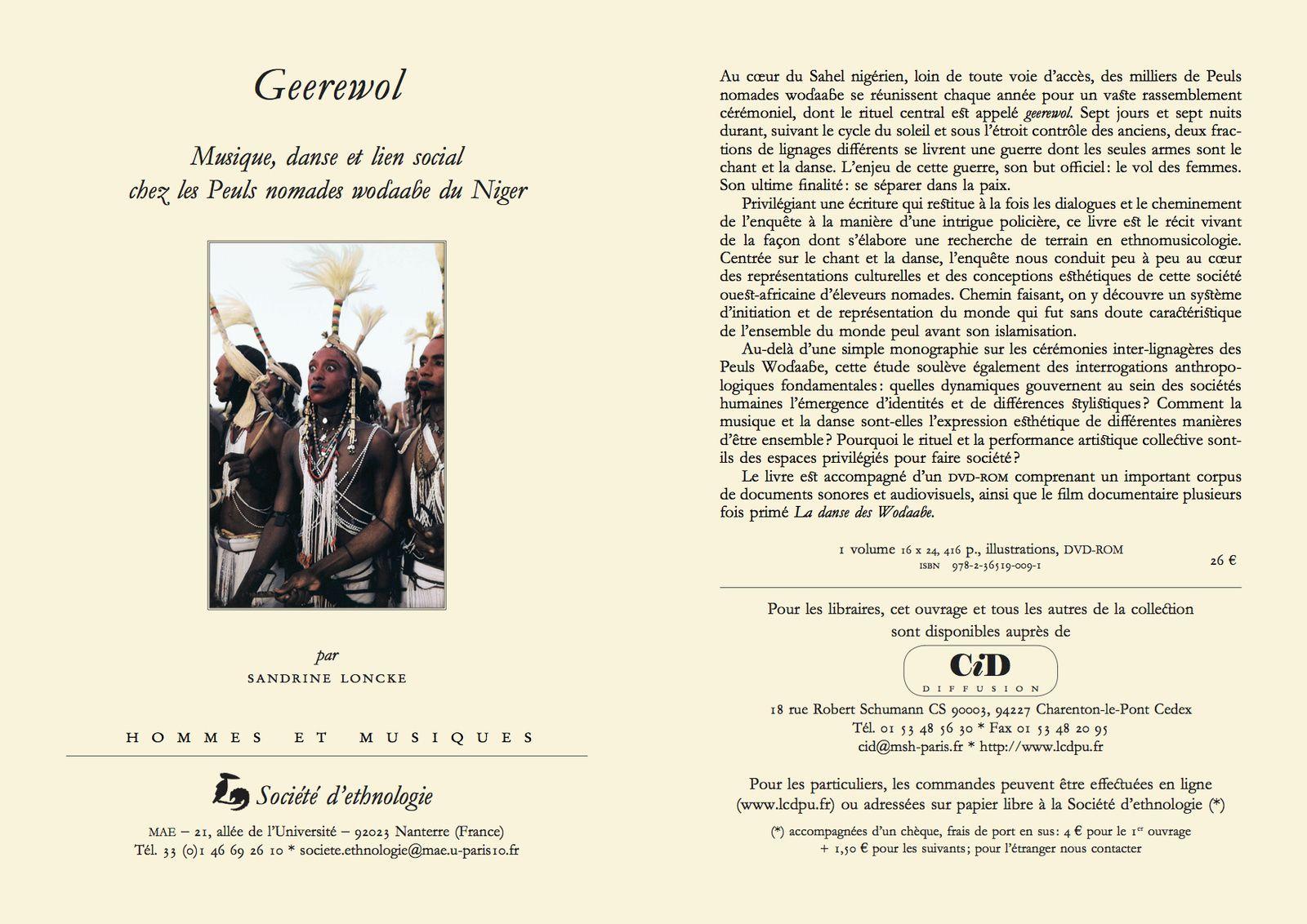 Musique, histoire et identité : exemples africains