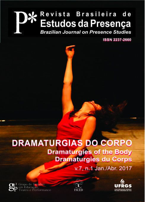 Dramaturgias do Corpo